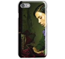 She Sews into the Night iPhone Case/Skin
