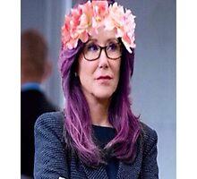 Sharon Raydor purple Photographic Print