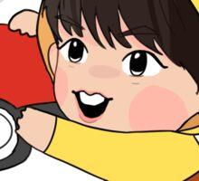 Pikachu Jungkook Sticker