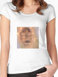 Queen of the Night... and Lights Women's Fitted Scoop T-Shirt