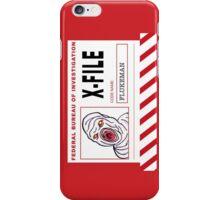 X-File: Flukeman iPhone Case/Skin