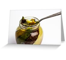 Sweets on a spoon Greeting Card