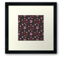 FLOWERFIELD Framed Print