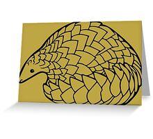 Save the Pangolins Greeting Card