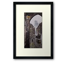 Foggy Night in the City Framed Print