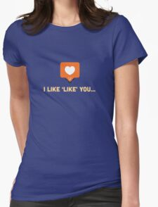 Character Building - 'Like' Like Womens Fitted T-Shirt