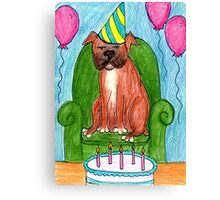Guess Who's Birthday? Canvas Print