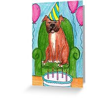 Guess Who's Birthday? Greeting Card