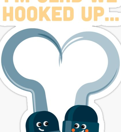 Character Building - Hook ups Sticker