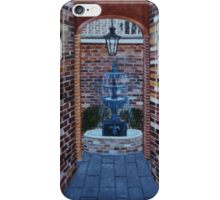 Into the Courtyard iPhone Case/Skin