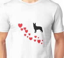 Love My German Shepard Unisex T-Shirt