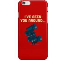 Character Building - Binoculars iPhone Case/Skin