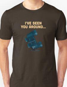 Character Building - Binoculars Unisex T-Shirt