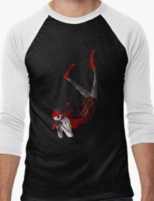 Queen of Clubs - Tip-Toe Men's Baseball ¾ T-Shirt