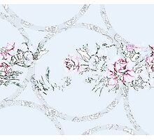 Floral & Lace Photographic Print