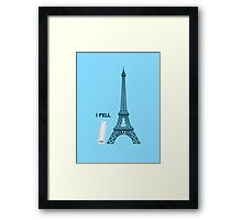 "Character Building - ""I Fell"" Framed Print"