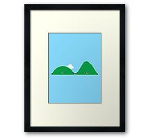 Character Building - Island Love Framed Print