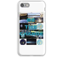 Time for change time to rise,flat earth iPhone Case/Skin