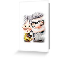 Carl and Ellie Greeting Card