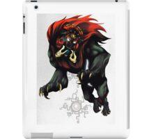 Dark Beast Ganon iPad Case/Skin