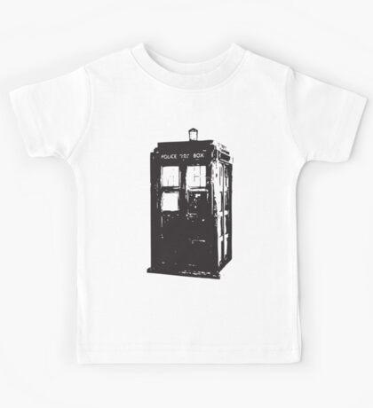 TARDIS Kids Tee
