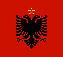 Flag of People's Socialist Republic of Albania, 1946-1992 by abbeyz71