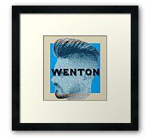Fade Wenton Framed Print