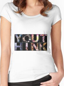 YOU THINK-GIRLS´GENERATION Women's Fitted Scoop T-Shirt