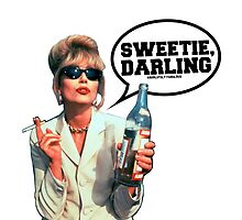"Absolutely Fabulous - ""Sweetie, Darling"" Patsy. by Ieuan Thomas"