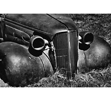 1937 Chevrolet Coupe at Bodie Photographic Print