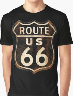 Route 66 Graphic T-Shirt