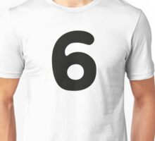 Comic Number 6 Six Unisex T-Shirt