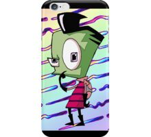 ZIM in Human Disguise - Invader Zim / Gir Fan Art  iPhone Case/Skin
