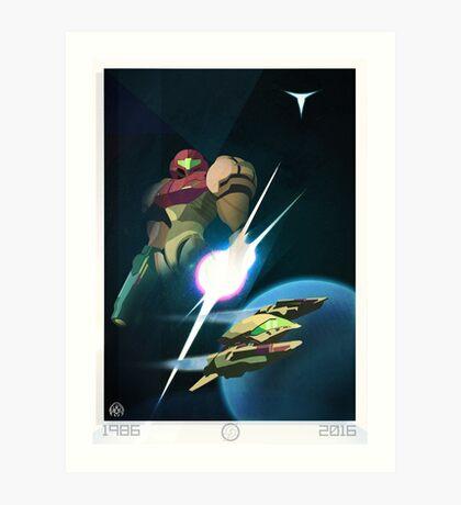 30 Years - Metroid Art Print