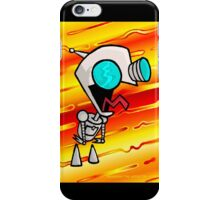 GIR - Yes Master !!! - Invader Zim / Gir Fan Art by VTA iPhone Case/Skin