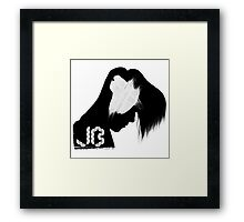 R&B / POP: Justin Bieber Framed Print
