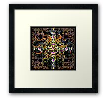 Pretty Puzzle Framed Print