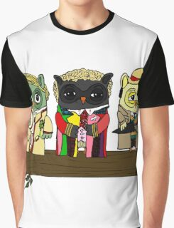 Doctor Hoo! Graphic T-Shirt