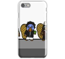 Faces of Mr. Robbin the Platypus iPhone Case/Skin