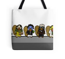 Faces of Mr. Robbin the Platypus Tote Bag