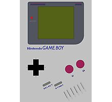 Original Gameboy Photographic Print
