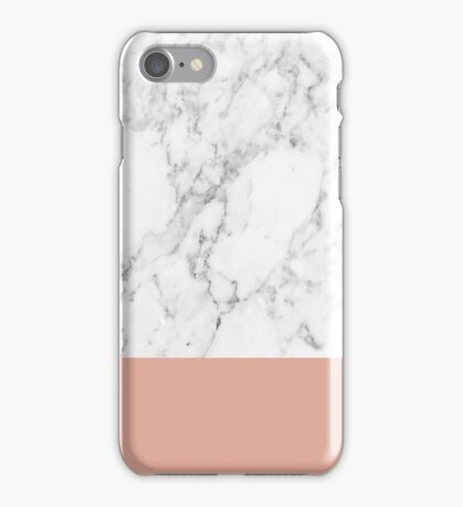 Coral Marble iPhone Case/Skin