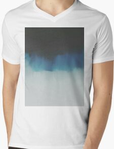 Wave Mens V-Neck T-Shirt