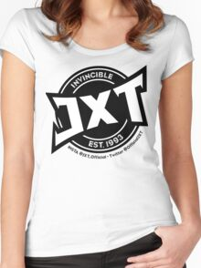 Invincible JXT Logo Women's Fitted Scoop T-Shirt