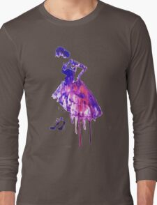 Watercolour fashion Long Sleeve T-Shirt