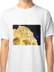 Sassari: facade of the cathedral Classic T-Shirt