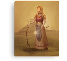 Zelda Royal Portrait Canvas Print
