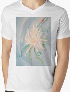 A Daisy Mens V-Neck T-Shirt