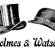 Holmes and Watson by zoturner