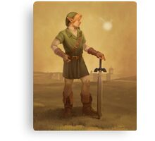 Link Portrait Canvas Print